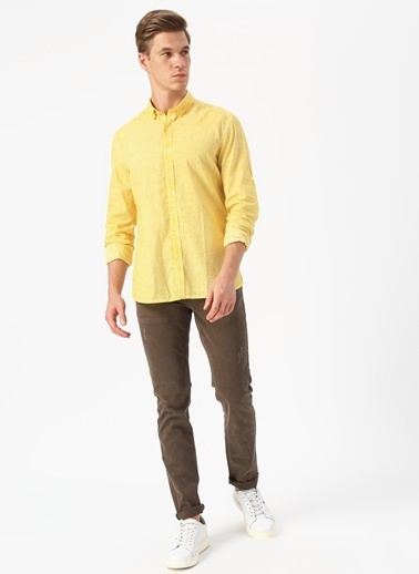 Fabrika Gömlek Sarı